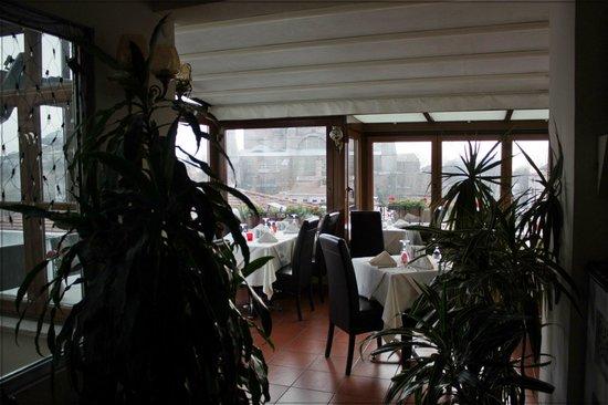 Celal Sultan Hotel: Ресторанчик на крыше