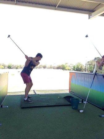 Albert Park Golf Course: Driving Range