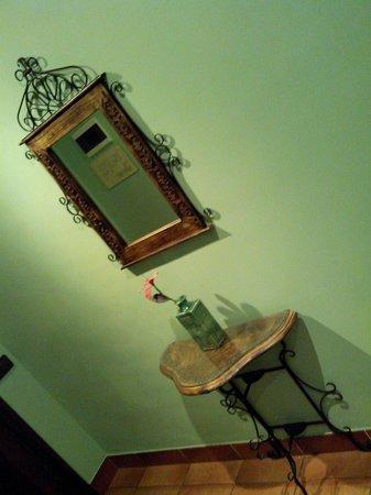 Hotel Baviera: La entrada de la habitación