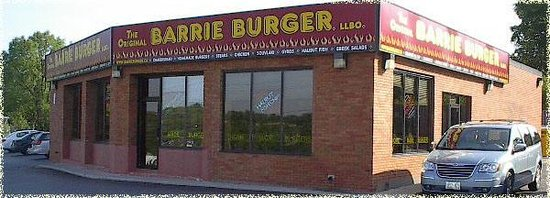 Original Barrie Burger