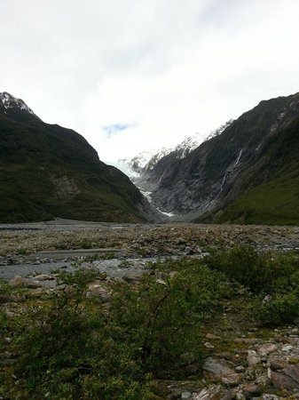 Franz Josef Glacier: Start of valley walk
