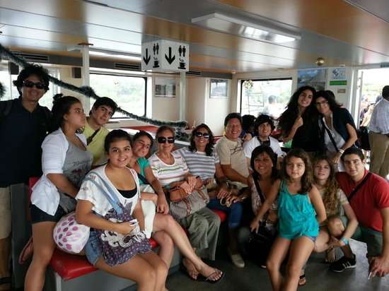 Finca San Juan de la Isla : En el ferry rumbo a la isla de Ometepe