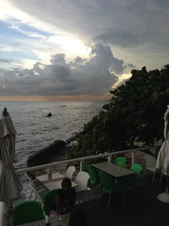 Adrian Tropical: One great view from my table