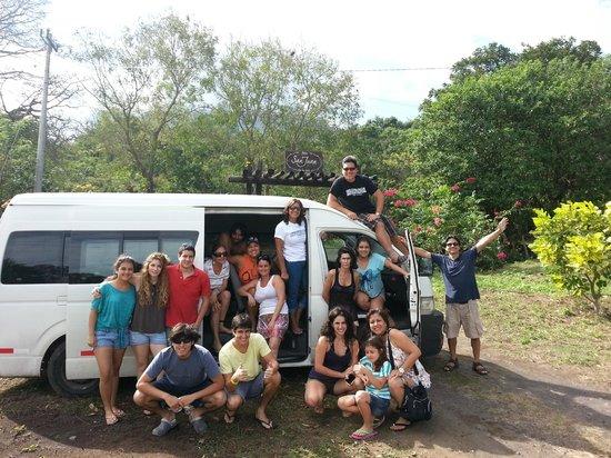 Finca San Juan de la Isla: La combi peruana de retorno a casa