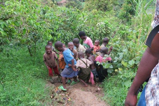Rwandan Adventures: Our entourage