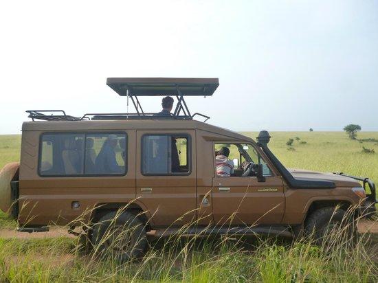 African Pearl Safaris: Safari Heavy duty Land Cruiser