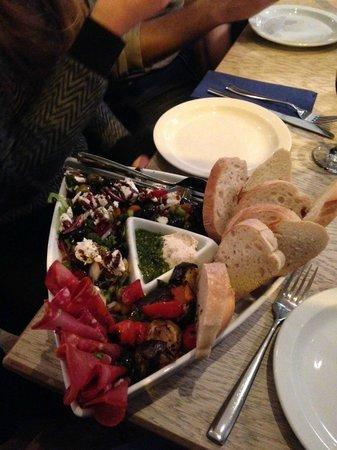 Soprano's: Highly recommend the Italian Mezze Starter
