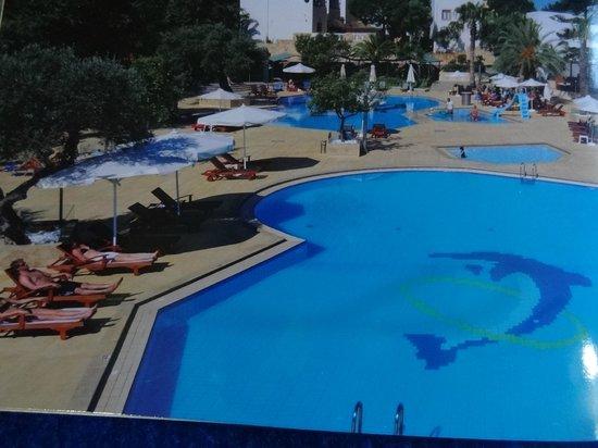 Sirios Village Hotel & Bungalows: poolen
