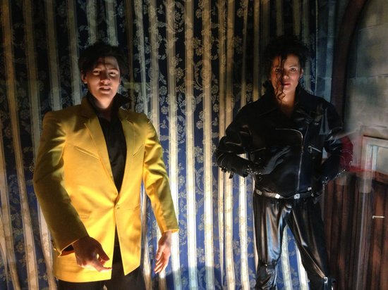 Inside the wax museum