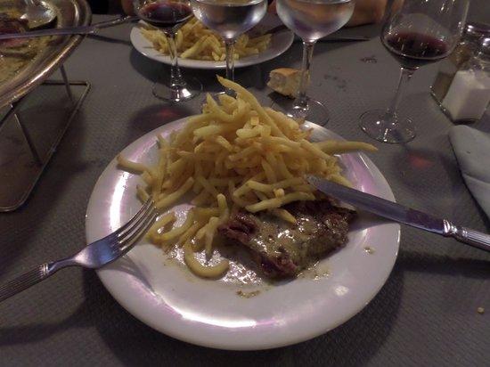 L'Entrecote Du Port : la fameuse entrecote frites