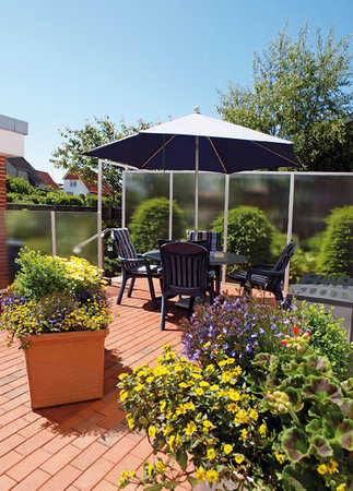 Haus Thorwarth - Hotel-Garni: Terrasse