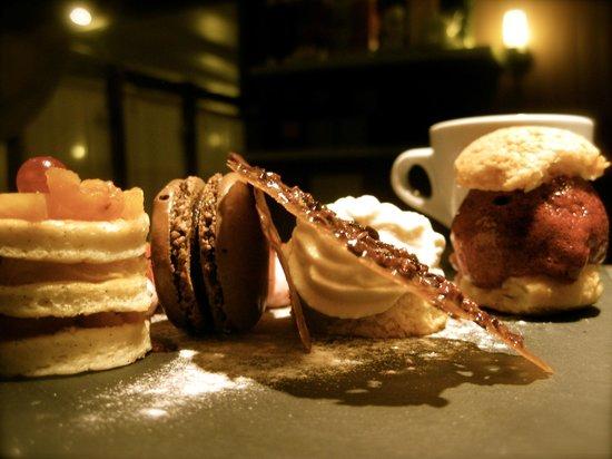 L'archipel: café gourmand