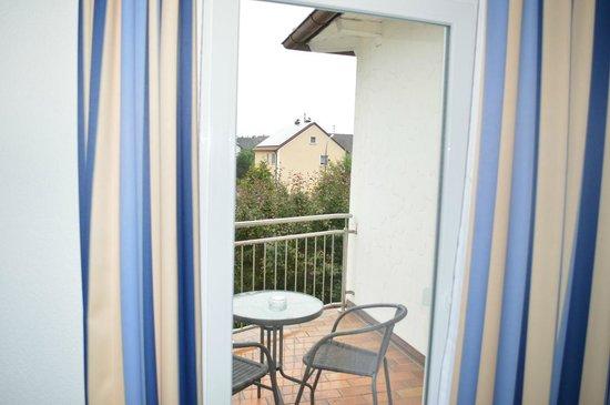 Hotel Bettina: Балкон