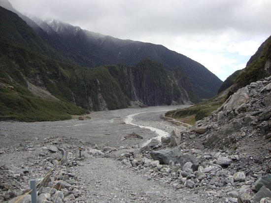 Fox Glacier Hiking Trails: Valley