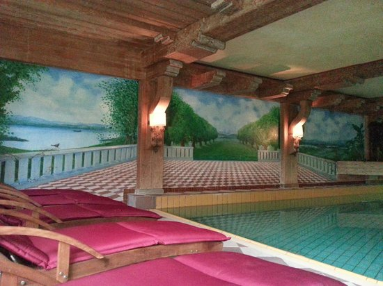 Hotel Ludwig Royal: Blick nach draußen?