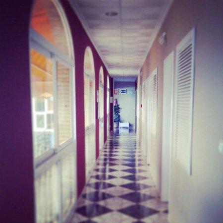 Hotel Plaza Manjón: Los pasillos
