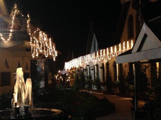 Hotel Mount View & Spa: Few days after Diwali
