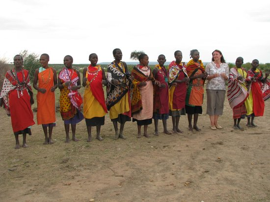 SEMADEP Camp: Dancing with the women from the village.