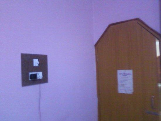 Hotel Ganesha : ROOM ENTRANCE