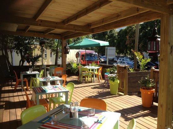 L'Etang-Sale, Reunion Island: Terrasse de la langue d'oc