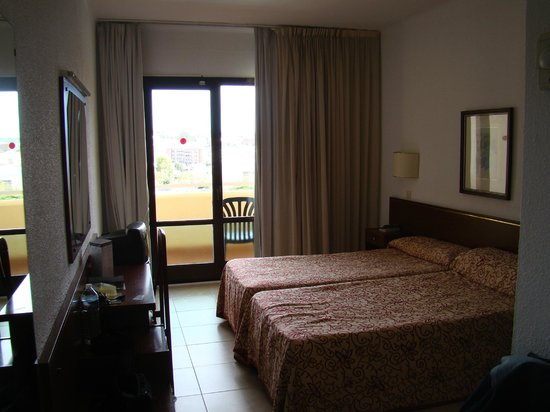 chambre de l'hôtel Evenia Olympic Park