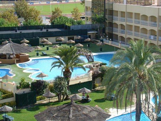 Evenia Olympic Park: piscines de l'hôtel