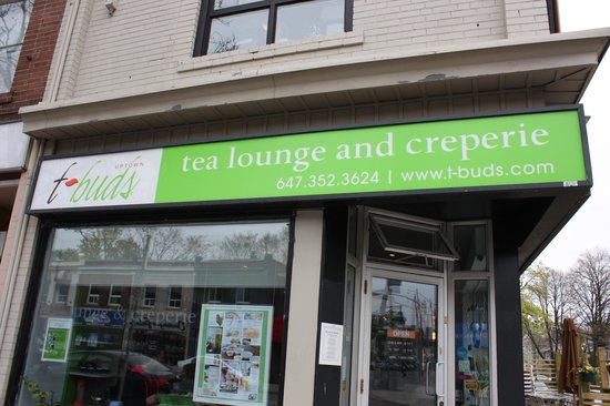 T-Buds Tea Lounge and Creperie