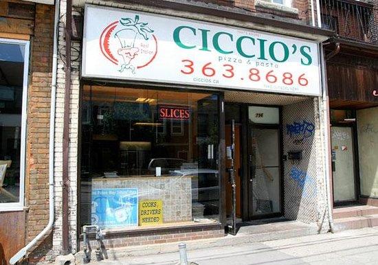 Photo of Restaurant Ciccio's Pizza and Pasta at 796 Dundas St W, Toronto M6J 1V1, Canada