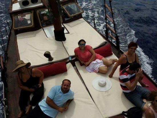 Mondragon's Dream: private boat canary islands