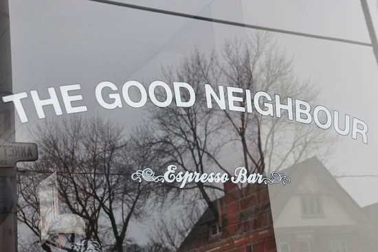 Photo of Cafe The Good Neighbour Espresso Bar at 238 Annette St, Toronto M6P 1R1, Canada