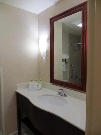 Holiday Inn Express Hotel & Suites Los Angeles Airport Hawthorne: Clean Bathroom