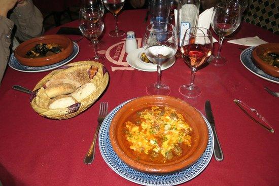 Restaurant Mabrouka: Tajine de kefta