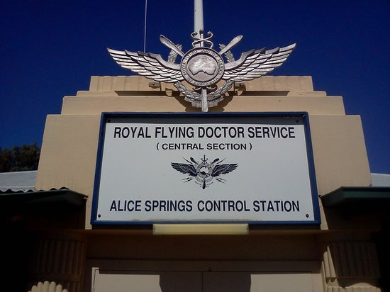 Royal Flying Doctor Service Tourist Facility: Near front entrance