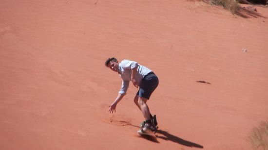 Salem Camp: Sandboarding