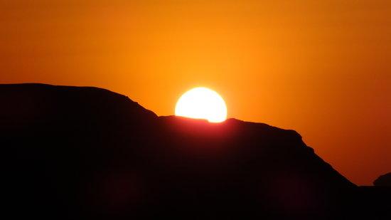 Salem Camp: Sunset at WadiRum-Trekking