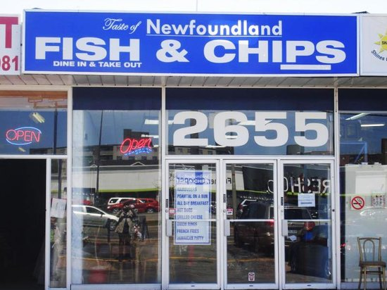 Taste of newfoundland fish chips toronto for Best place for fish and chips near me