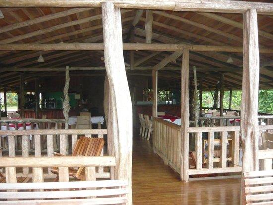 Hotel Pedacito de Cielo Eco Lodge: Restaurantbereich