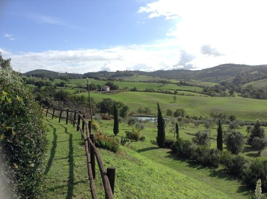 Quercia Rossa Farmhouse: from the lovely terrace