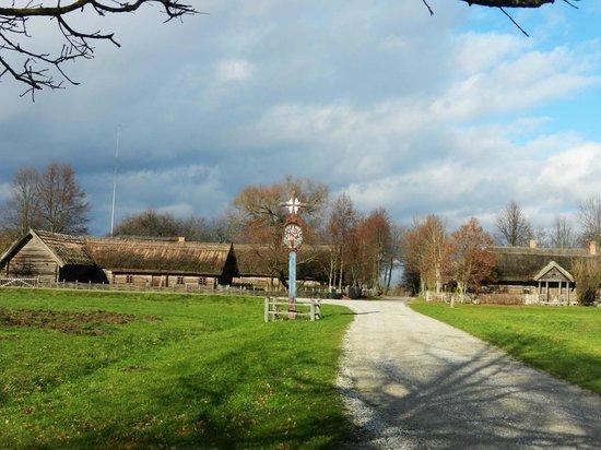 Rumsiskes Open-Air Museum: Деревушка