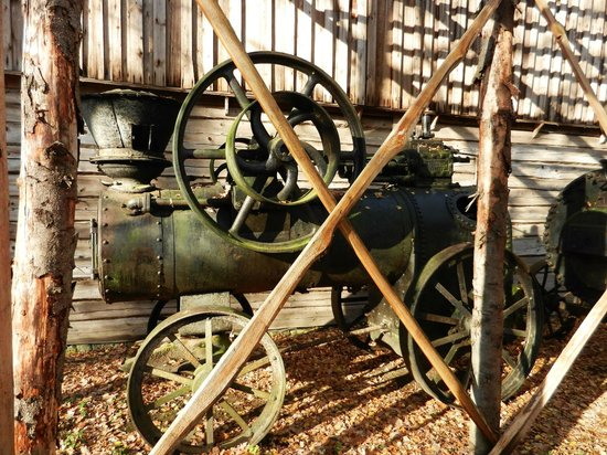 Rumsiskes Open-Air Museum: Маслодавка made in UK