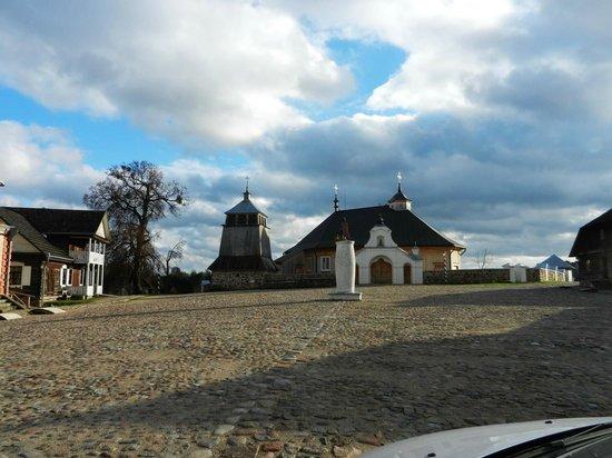 Rumsiskes Open-Air Museum: Городок