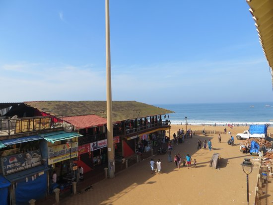 Calangute Residency: View from My Room