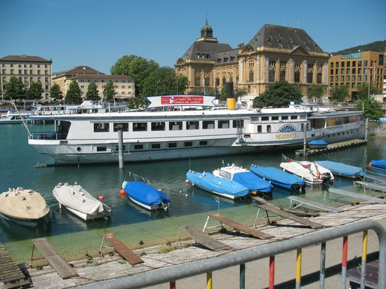 Lac de Neuchâtel: Port de Neuchatel