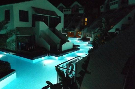 Susesi Luxury Resort : vue de nuit