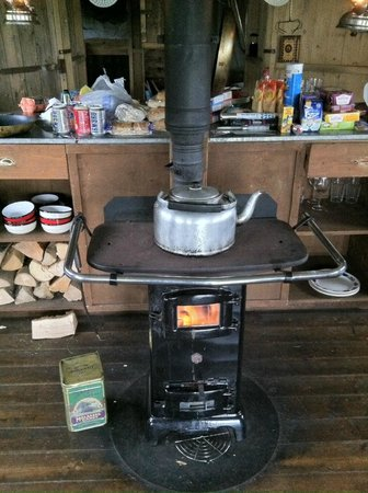 Feather Down Farms at Pant y March Farm : Heating and Eating!