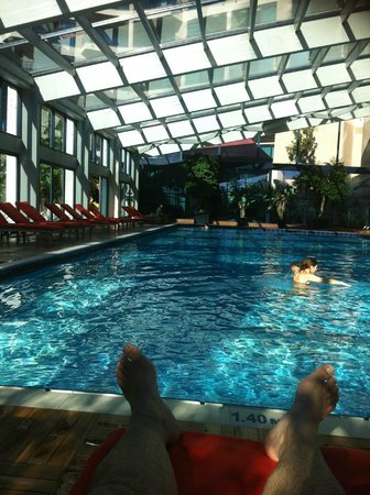 Susesi Luxury Resort : la piscine intérieure