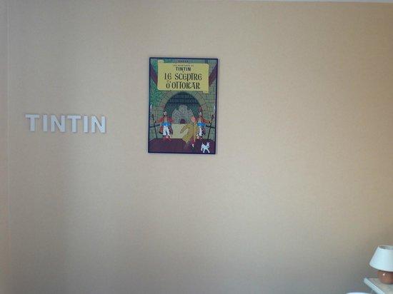 Hotel Le Monarque: omaggio a Tin Tin
