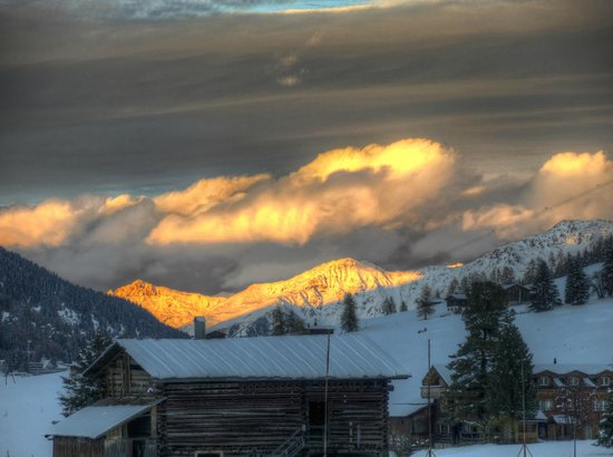 Arabella Hotel Waldhuus Davos: Davos Sunsets