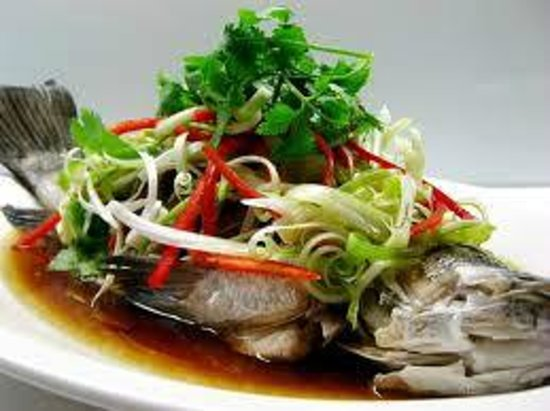 Amp cafe & restaurant: Fish with Soy Sauce