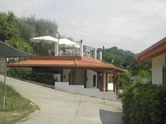 Residence Hotel La Taverna: entrata piscina